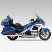 Honda Goldwing Azul