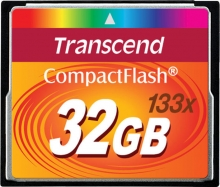 Transcend CompactFlash 32GB (133x)
