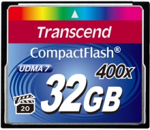 Transcend CompactFlash 32GB (400x)
