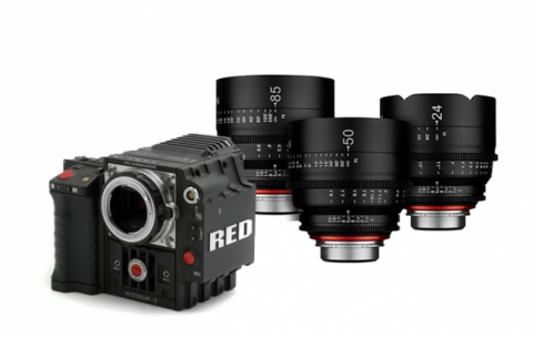 Pack RED Epic Mysterium X + Ópticas Xeen