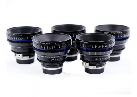 Pack 5 lentes Carl Zeiss C.P 2 y C.P 2 Super Speed Lenses (PL y EF mount)