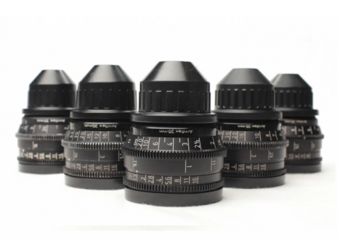 Pack 5 Lentes Zeiss - Super Speed T1.3 (montura PL)