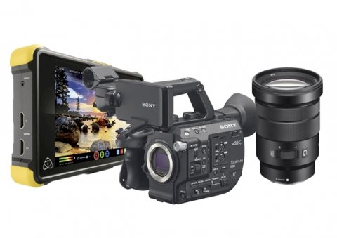 Pack Sony FS5 + Objetivo 18-105mm + Shogun Flame