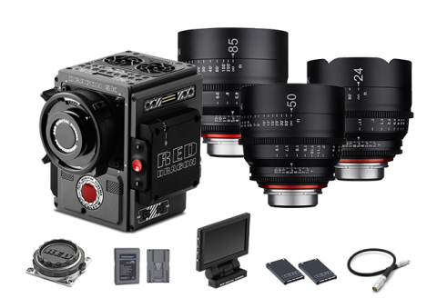 Pack Red Scarlet-W Pro
