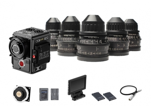 Pack Red Scarlet-W Deluxe