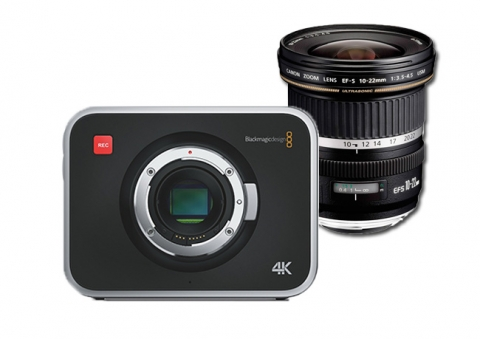 Pack Blackmagic 4K + Objetivo 10-22mm